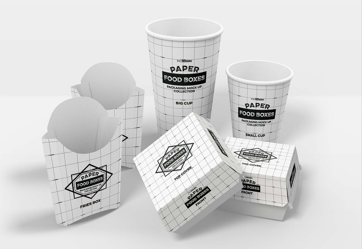 Cup Jar Boxes