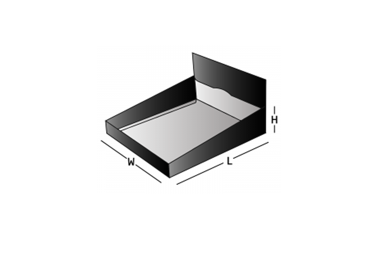Double wal display lid