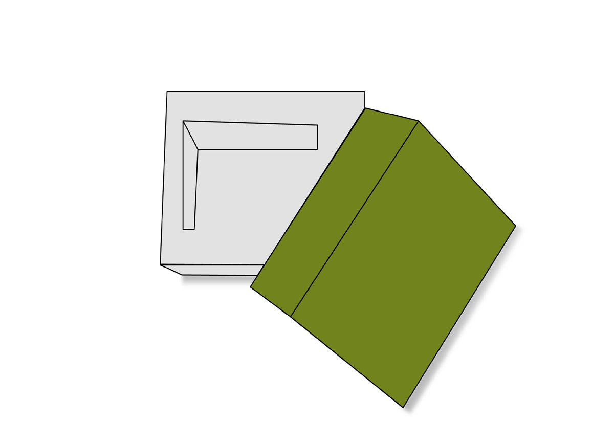 Double wal frame lid