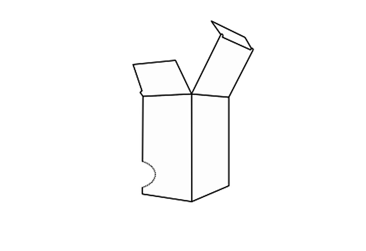 Perforat dispenser box