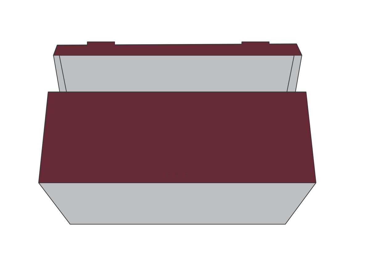 Piece tray side wall