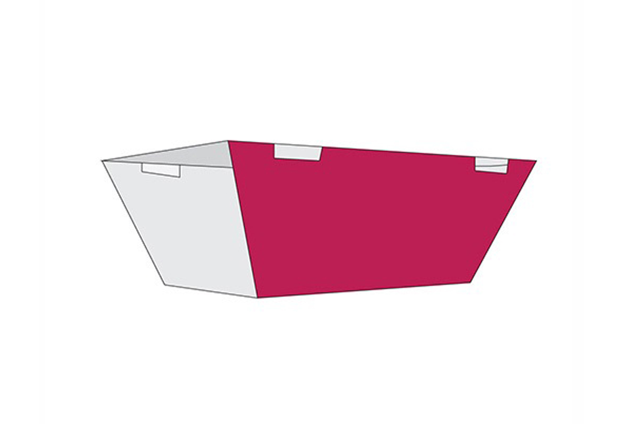 Sleeve taper side panel