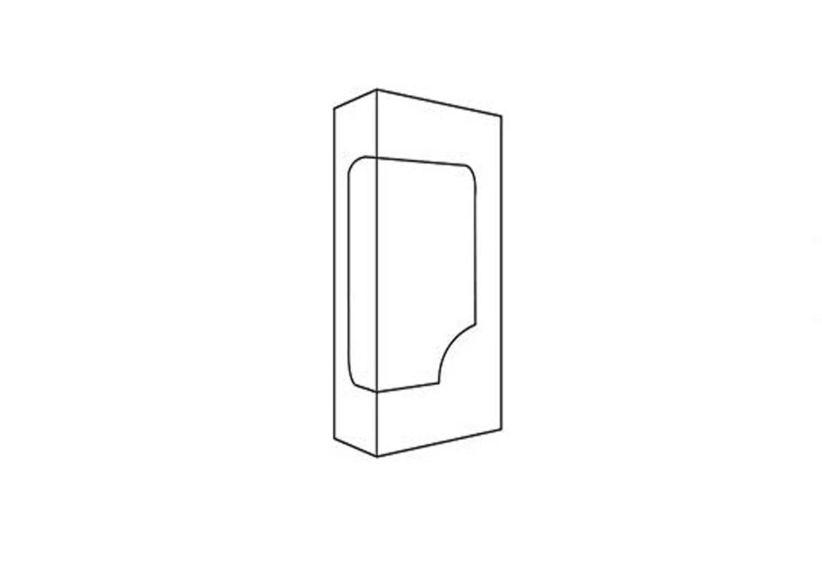 Straight Tuck Window