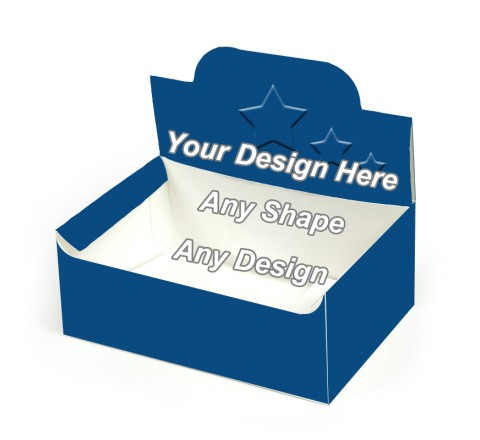Embossed - Pop up Display Boxes