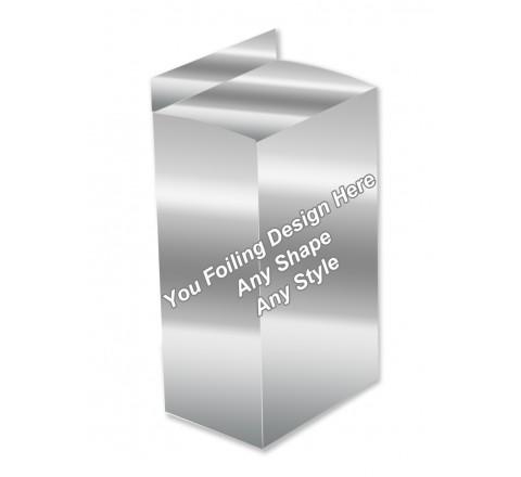 Silver Foiling - Five Panel Hanger Boxes