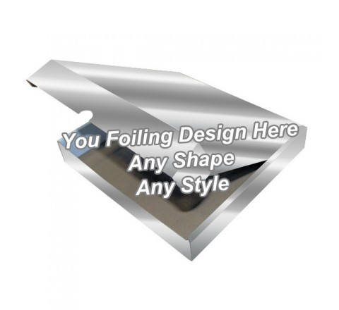 Silver Foiling - Snood Packaging Boxes