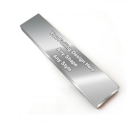 Silver Foiling - Custom Hair Extension Box
